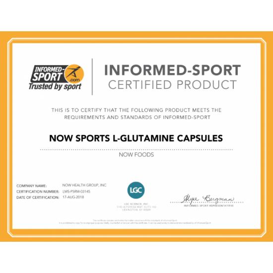 L-Glutamine 1000 mg - 120 Capsules
