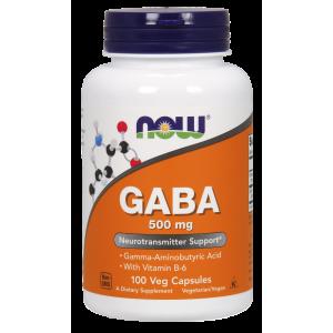 GABA 500mg - 100 Veg Capsules