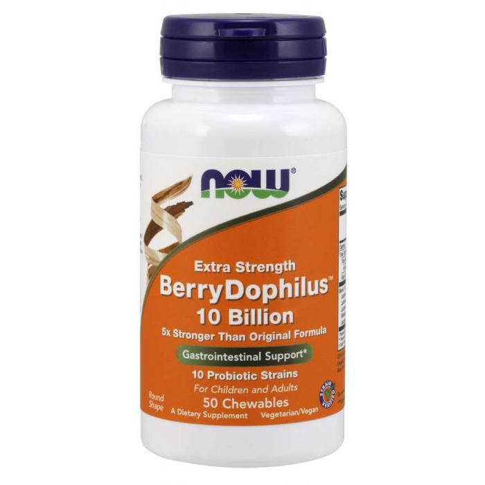 BerryDophilus™ 10 Billion Extra Strength - 50 Chewables