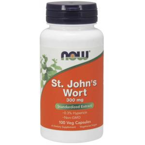 St. John's Wort 300 mg  100Veg Capsules