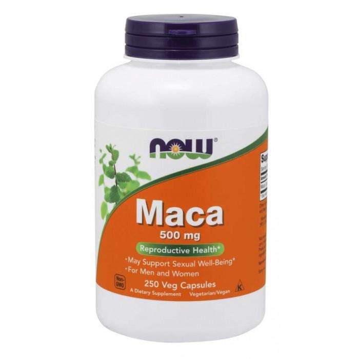 Maca 500 mg - 250 Veg Capsules