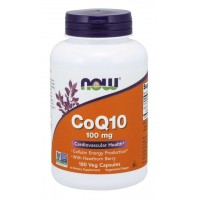 CoQ10 100 mg with Hawthorn Berry - 180 Veg Capsules